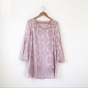 Floreat x Anthropologie   Esme Bell-Sleeve Dress 0